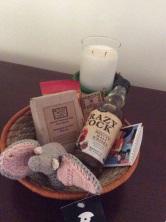 Fun gift basket