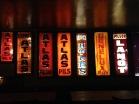 Decorations in the Delerium Cafe