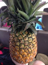 Fresh pineapple: more on this later