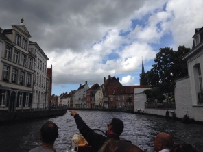 Boat ride along the canal