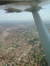 Kampala from above