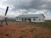 the airport at Kidepo