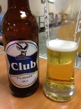 one final Club beer